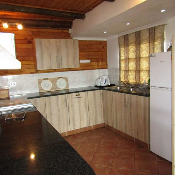 White Stinkwood kitchen